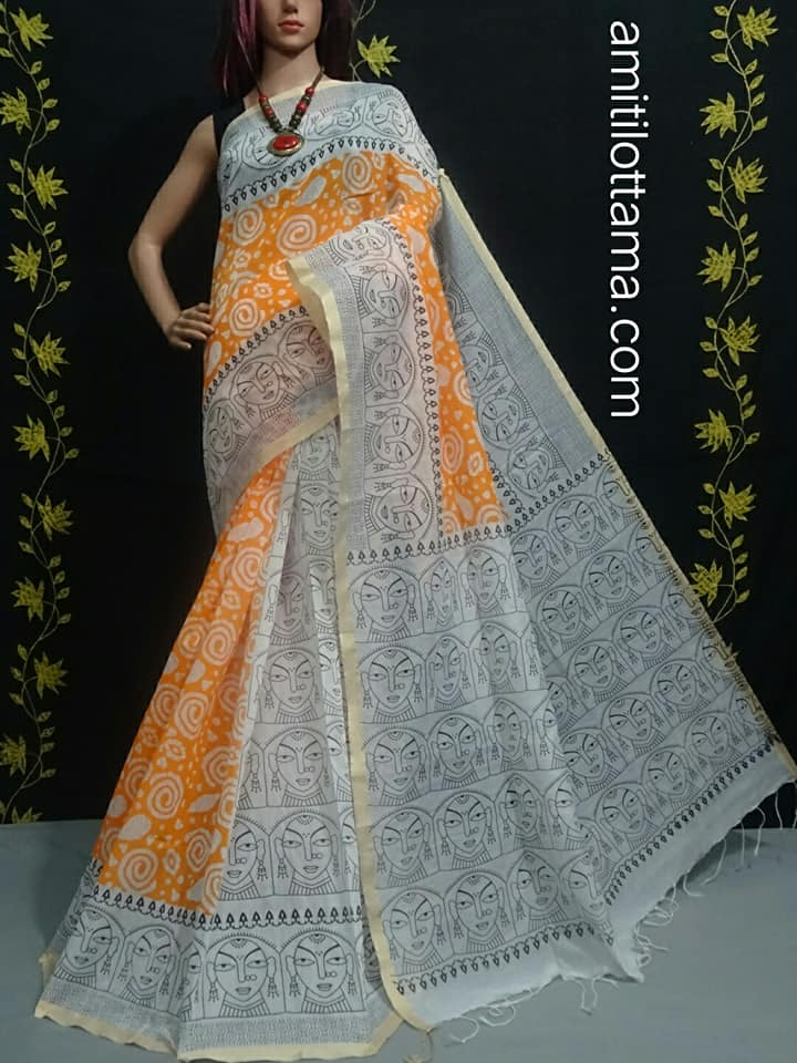 Bengal Handloom Silk Cotton